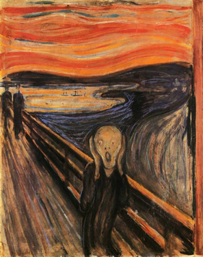 Does your public speaking phobia make you feel like this? The Scream